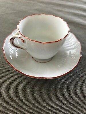 Antique Miessen cup and saucer