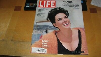 1962 Life Magazine June 15 Natalie Wood - Cannes High Grade Lowest Price On Ebay