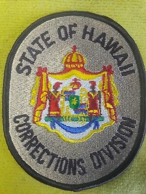 Hawaii HI Corrections Division DOC Jail Prison Penitentiary Police Sheriff Patch