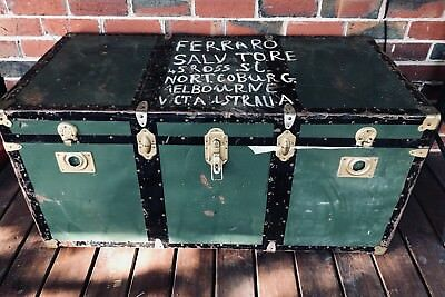 Antique trunk chest