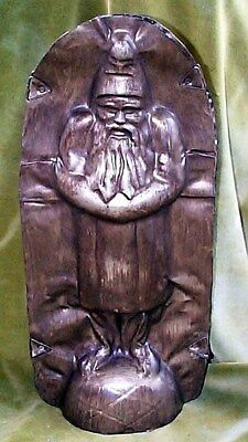Belsnickle Santa Traditional Chocolate Mold Antiqued Metal Christmas It Opens