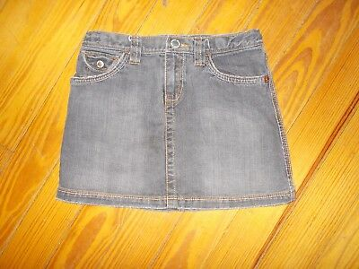 Girls Black Gap Denim Jean Skirt Size 14 Regular Adjustable Waist CUTE L@@K