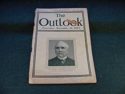 December 16 1905 The Outlook Magazine Young Men's Christian Association Article