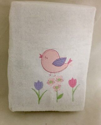 New Bubba Blue Baby Changetable Mat Cover Bird Design Soft