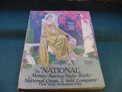 1923 Spring Summer National Cloak & Suit Co NYC Catalog Women Clothes Hats Shoes