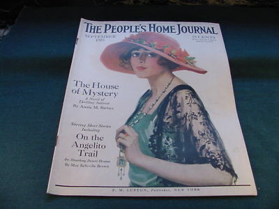 Sept 1923 The People's Home Journal Magazine Cream of Wheat Color Advertisement