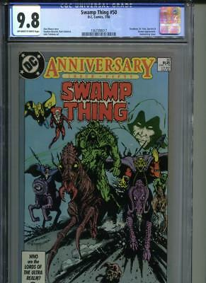 SWAMP THING #50 CGC 9.8 1st Appearance of Justice League Dark KEY BOOK