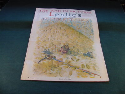 Mar 9 1918 Leslie's Magazine The War In Pictures No Reserve
