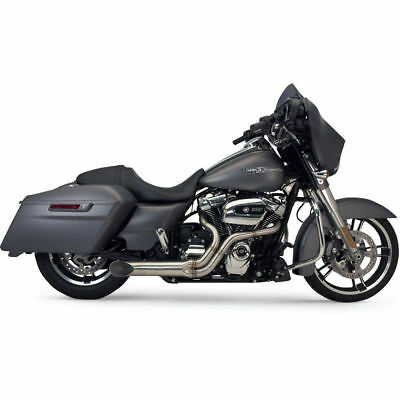 Supertrapp Bootlegger 2-Into-1 Stainless Exhaust for 2010-2016 Harley Touring
