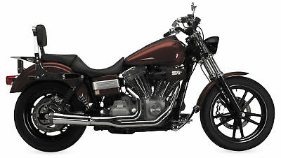 Supertrapp Fat Shot 2-Into-1 Exhaust for 2012-2017 Harley Dyna Models