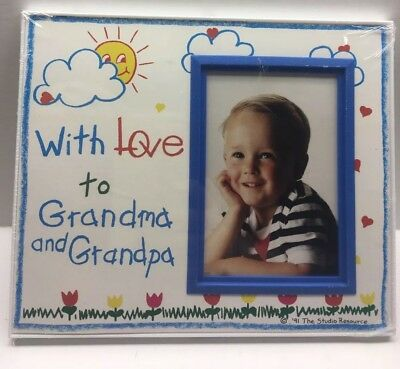With Love to Grandma and Grandpa. Picture Frame. Expressly Yours! Brand New!