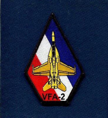 VFA-2 BOUNTY HUNTERS F/A-18F F-18 SUPER HORNET US NAVY Squadron Coffin Patch