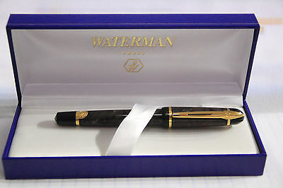 IWATERMAN Phileas Indus Grey Roller Ball pen.NOS,box,papers, refill LOOK