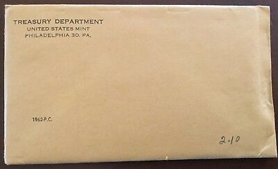 1962 US Mint Unopened Proof Set   SEALED   L@@K