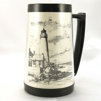 EAGLE Cove Point Lighthouse Stein Chesapeake Bay Vintage Mug ~ Made in the USA