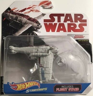 Star Wars HotWheels Starships Die-Cast ( Resistance Bomber )