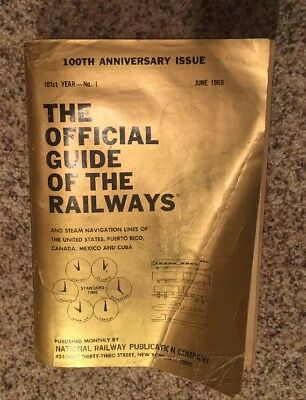 The Official Guide Of The Railways June 1968 100th Anniversary Issue