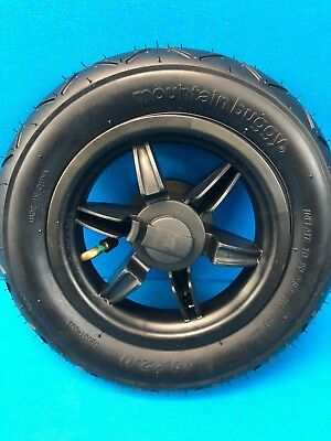 """Mountain Buggy 10"""" Complete Rear Wheel, Tire, + Tube for Swift & Duet Strollers"""