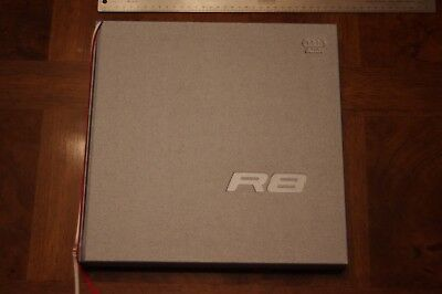 Audi R8 Marketing Owner's Book Hardcover Rare 2007 Great Condition