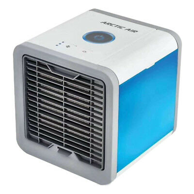 2x Mini Cooling USB Rechargeable Air Conditioner Portable Cooler Desktop