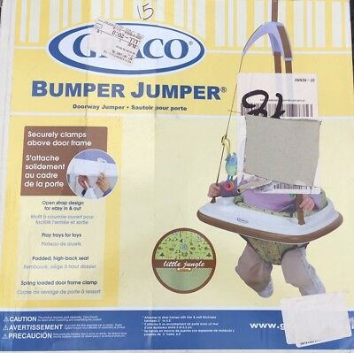 Graco Doorway Bumper Jumper Little Jungle