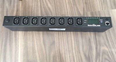 ServerLink 10A Switched 1U PDU SLP-SB1008-H