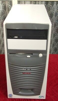 Vintage Optima MyPC Celeron 733MHz computer from 2001 - works well