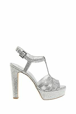Michael Kors Catalina Sandal Silver Silver Silver(047)