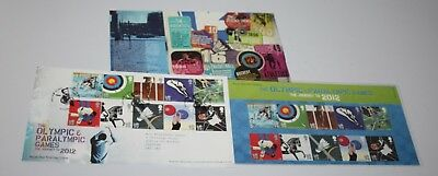 Royal Mail - London 2012 Olympics, The Journey To 2012 - Presentation Pack & FDC