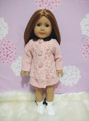 Pink Coat Doll Clothes for 18'' American Girl Our Generation Dolls