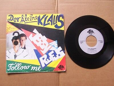 JESSY AND RUFUS,DER KLEINE KLAUS/FOLLOW ME single vg/vg+ atoll music AT 820702