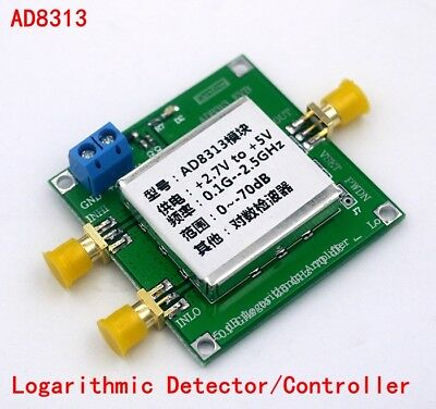 AD8313  0.1 GHz To 2.5 GHz 70 dB Multistage Demodulated Logarithmic Detector AMP