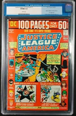 Justice League Of America #111 CGC 9.0! White Pages! (DC Comics 1974)
