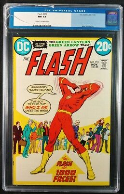 Flash #218 CGC 9.4! NM (DC Comics 1972)