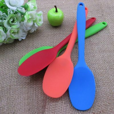 Stirring Accessories Resistant Serving 1 Pcs Spoon Cooking Silicone Mixing