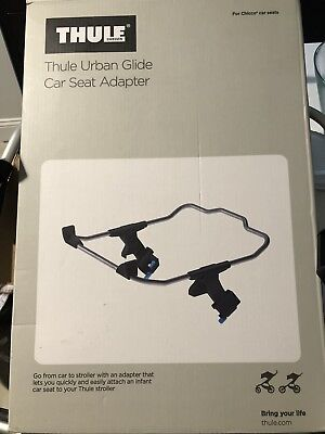 Thule Urban Glide Jogging Stroller Infant Car Seat Adapter For Chicco