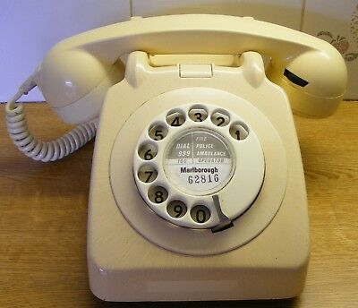 Rotary 706F  Ivory / Cream Telephone.