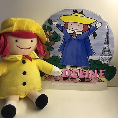 Madeline Plush Doll 14 inches good condition