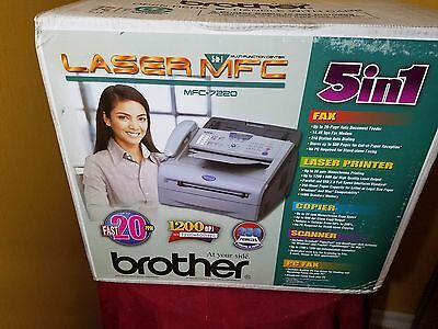 Brother 5-in-1 MFC-7220 Laser Printer
