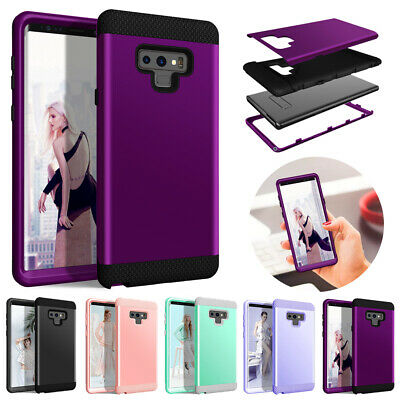 For Samsung Galaxy Note 9 S9 Case Shockproof Hybrid Tough Bumper Armor TPU Cover