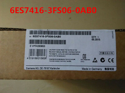 Siemens 6Es7416-3Fs06-0Ab0 6Es7 416-3Fs06-0Ab0   New In Box