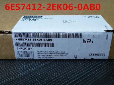 Siemens 6Es7412-2Ek06-0Ab0 6Es7 412-2Ek06-0Ab0 New In Box