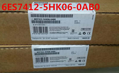 Siemens 6Es7412-5Hk06-0Ab0 6Es7 412-5Hk06-0Ab0 New In Box