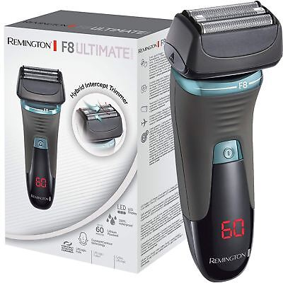 Remington XF8705 F8 Ultimate Series Men's Foil Shaver LED Display & Quick Charge