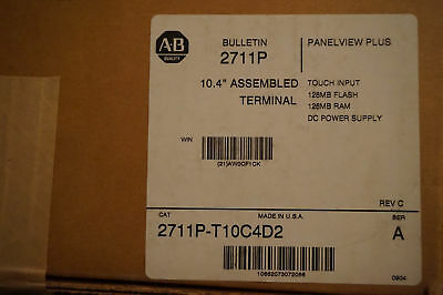 Allen Bradley 2711P-T10C4D2 2711PT10C4D2 NEW IN BOX 1pcs