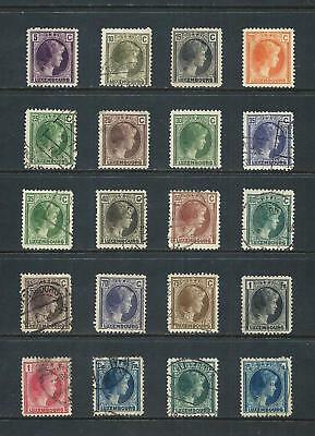 LUXEMBOURG _ 1926+ 'DUCHESS CHARLOTTE' 20 _ mh-used ____(544)