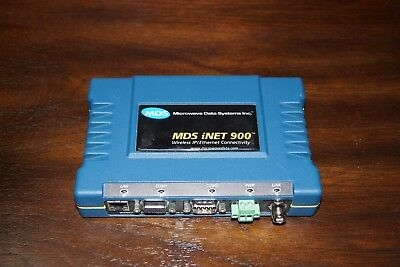 MDS iNet 900 HL iNET Remote Ethernet Bridge, Access Point & Dual Remote