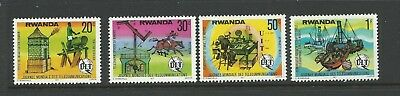 1977 World Telecommunications Day Part set 4 Mint Unhinged/Never Hinged