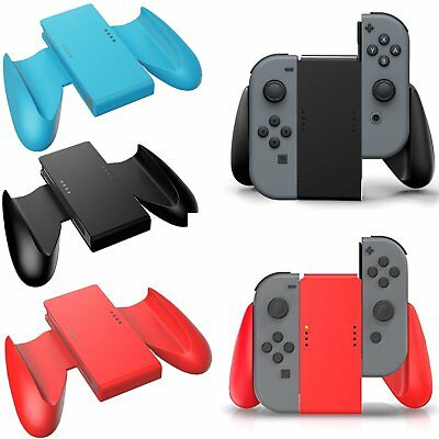 L+R Joy-Con Comfort Grip Game-play Rubber For Nintendo Switch NS JoyCon Holder