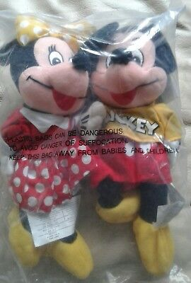 Mickey And Minnie Mouse Plush Disney Promos